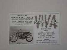 advertising Pubblicità 1973 MOTO MONTESA CAPPRA 125 HX ELETTRONICO