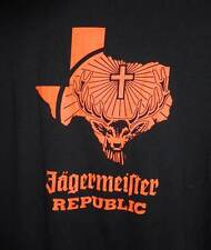 Jagermeister Texas Swag Shirt Drinking Size Large