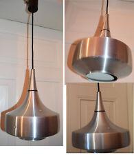 LAMPE METAL BROSSE DESIGN SIXTIES VINTAGE SPACE ART