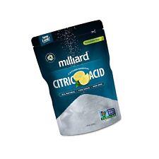 Milliard Citric Acid 2 Pound - 100% Pure Food Grade Non-Gmo. - Free 2 day Ship