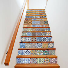 3D Tile Sticker Self-adhesive Staircase Sticker Kitchen Wall Stickers Decal
