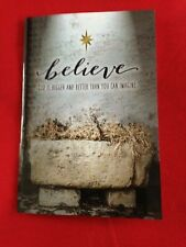 """""""BELIEVE"""" Personal devotion book,  32 pg Book, Nice Gloss Paper,  NEW"""