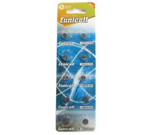 X10 1.5v Eunicell AG4 SR626 LR626 SG4 G4 Alcaline Bouton Cellule Piles de Montre