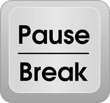 Stampa incorniciata-Computer Chiave Art pausa BREAK (PICTURE POSTER MICROSOFT TASTIERA)