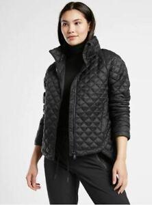 Athleta NWT Women's Whisper Featherless Jacket Size Small Color Black
