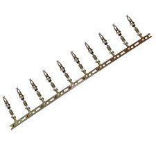 10x pins broches femelles pour connecteur faisceau mini ISO fiche autoradio