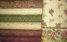 QUILT, SEW, FABRIC  7 YDS Arabella Rose BY Marianne Elizabeth for RJR Fabrics #1