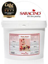 AMAZING SARACINO GLUTEN FREE MODELLING PASTE WHITE 5kg BULK BUY