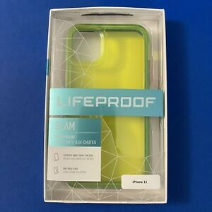 Lifeproof SLAM Series Case for iPhone 11—Translucent Neon Green
