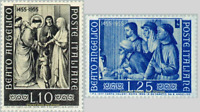EBS Italy 1955 - Fra Anglico - Unificato 790-791 MNH**