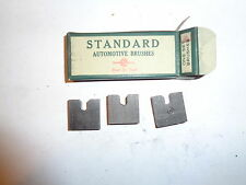One Set of 3  NOS Standard Generator Brushes Ford Model A 1929-31 2-F8  1-F8C