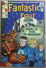 FANTASTIC FOUR #45, Intro & 1st Appearance of 'THE INHUMANS', 1965.