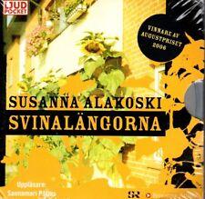 6 CD Hörbuch Ljudbok Susanna Alakoski SCHWEDISCH Svinalängorna, svenska NEU NEW