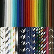 Premium Textilkabel 100% Baumwolle, 2-/3-/4-adrig Lampenkabel, Stoffkabel