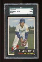1953 Topps Set Break #244 Willie Mays SGC 50 VG/EX 4