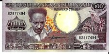 SURINAME 1986 100 GULDEN CURRENCY UNC