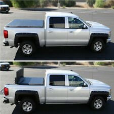 Fits 2017-2019 Nissan Frontier Pickup 5ft Short Bed Trunk Tri-Fold Tonneau Cover