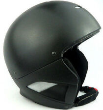 RuRoc Solo Core Skiing Snowboarding Protective Helmet Black Size M/L 57cm-61cm