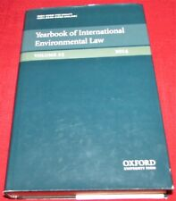 THE YEARBOOK OF INTERNATIONAL ENVIRONMENTAL LAW - 2014 - HB