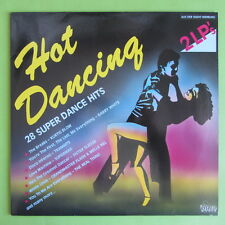 "2 LP HOT Dancing Dino Music DLP 1901 28 SUPER Dance Hits 12"" vinile disco"