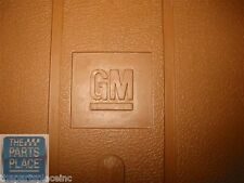1973-87 GM Cars New Original Floor Mat Set - Tan