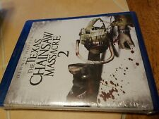 The Texas chainsaw Massacre 2 blu ray new factory sealed shrink wrapped