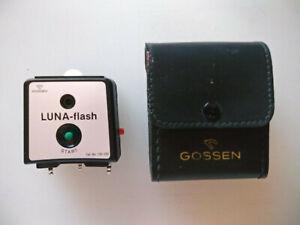 Gossen LUNA-Flash Attachment for Luna-Pro SBC 130-200 + Case Photo Accs NOS