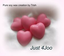 5 Just 4Joo (Joop) pure Soy Wax heart melts for oil burner to scent your home