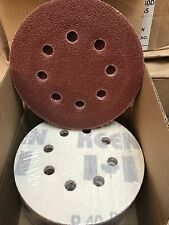 KEEN HOOK & LOOP SANDING DISCS DUST-FREE, 5 IN, 40 GRIT, 32408 (200/PACK)