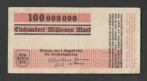 Hyperinflation bank note Weimar BAUHAUS Herbert Bayer 1923 Modern Graphic Design