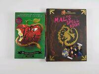 Lot of 2 Descendants Novels Softcover Melissa De La Cruz + Spell Book Hardcover