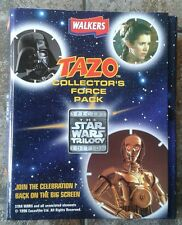Walkers Star Wars Trilogy Edition Tazo Collectors Force Pack Complete RARE