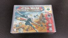 Star Wars Rogue Squadron N64 New Case with Free Artwork * NO GAME *