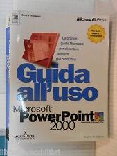 GUIDA ALL USO Microsoft PowerPoint 2000 Stephen W Sagman Microsoft Power Point