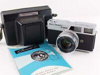 Bell & Howell Canon Canonet 19 35mm Rangefinder Camera w/ SE 45mm f/1.9 Lens