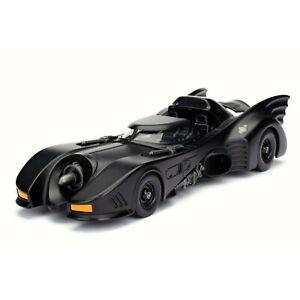 98263 Jada Metals 1989 Batman Batmobile 1:24 Diecast Model Car  Black