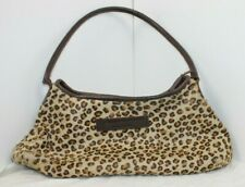 The Muddy Dog Company Leopard skin leather bag
