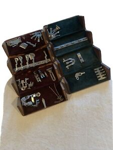 Singer Sewing Machine Puzzle Boxes 2 Boxes Some Attachments