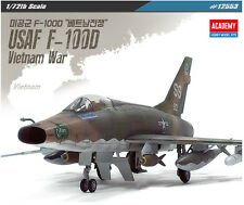 1/72 USAF F-100D Vietnam War / Academy model kit / #12553
