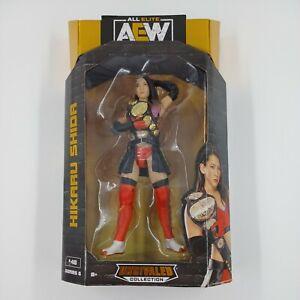 AEW Unrivaled Series 6 HIKARU SHIDA  Action Figure All Elite Wrestling NEW