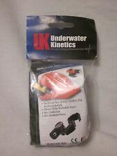 Underwater Kinetics Uk4aa Universal Helmet Clip Light Lamp Mount Holder Nip