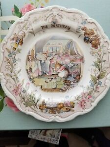 Royal Doulton Hampshire Salad Plate Pair Vintage Mid Century Collectable China Dining Serving Tableware
