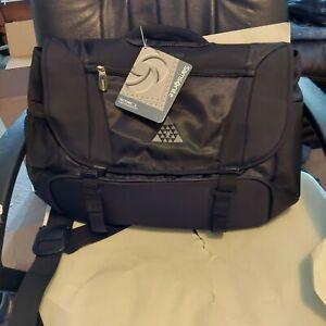 Samsonite Tectonic 2 Computer Messenger Bag Black NWT