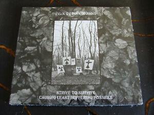 Slip CD Box Set: Flux Of Pink Indians : Strive To Survive ...  3 CDs Sealed