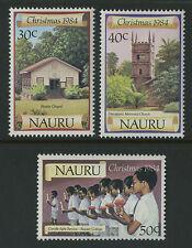 Nauru   1984   Scott # 300-302    Mint Never Hinged Set