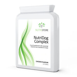 NutriDog Complex Multi Vitamins for Dogs 120 Tablets