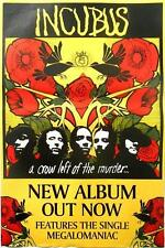 INCUBUS POSTER A CROW LEFT OF THE MURDER