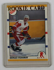 1990-91 Score Traded and Rookie; Sergei Fedorov 20T; RC; Detroit Red Wings