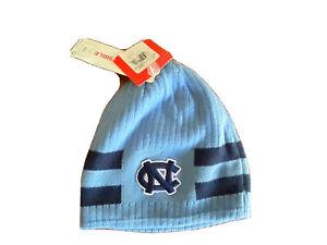 NWT North Carolina Tarheels NCAA Beanie Nike Team College Reversible Boys 4-7