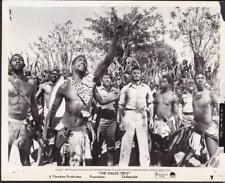 Cornel Wilde Ken Gampu in The Naked Prey 1965 vintage movie photo 33328